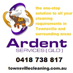 Ardent cleaning business card