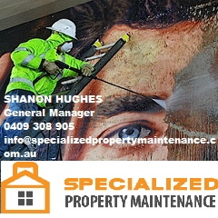 Specialized property maintenance business card