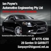 Ian paynes biz card