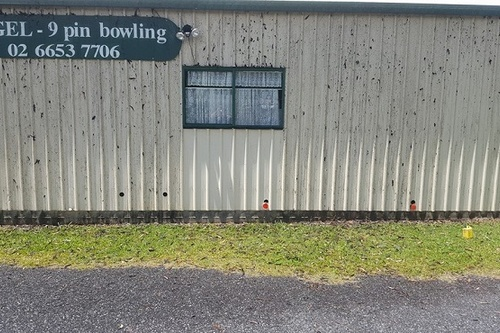 Bowling Building Before
