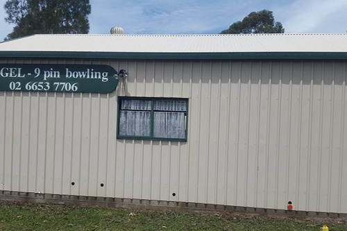 Bowling Building After