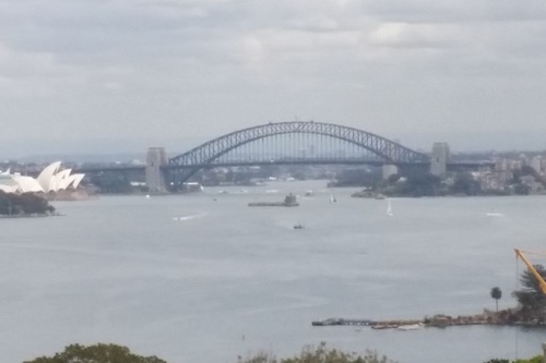 View from Vaucluse job site