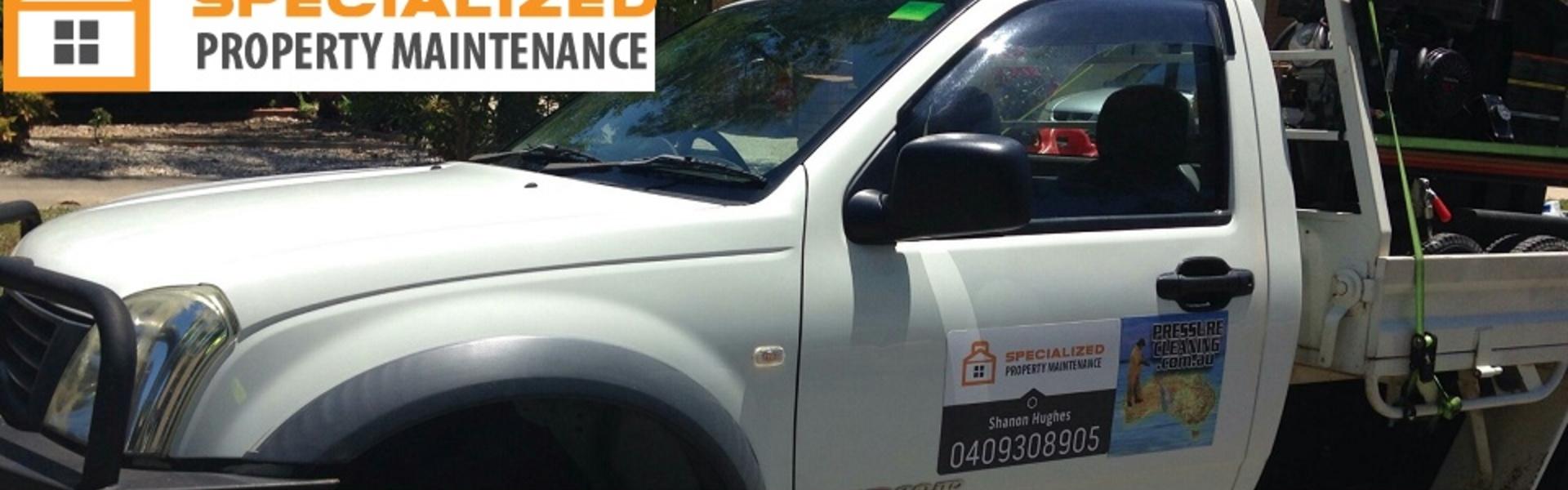 Specialized Property Maintenance Vehicle