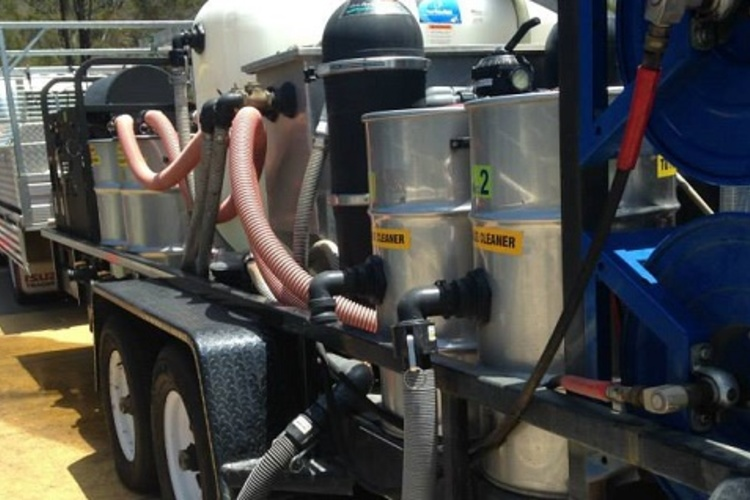 Waste Water Vacuum Recovery & Recycle Equipment