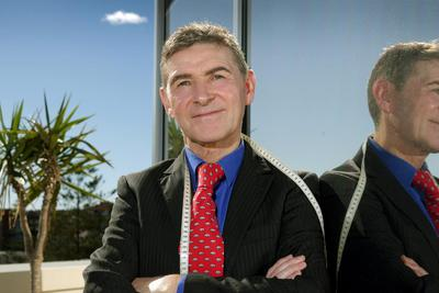 Obstetrican Dr Jim Ferry at his office in Manly. Photo: Adam Ward