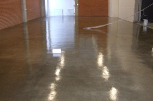 Factory Floor Sealing After