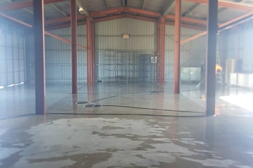 Factory Floor Cleaning