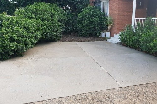 paint removal from concrete