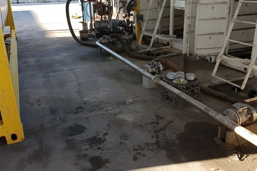 Industrial Concrete Cleaning