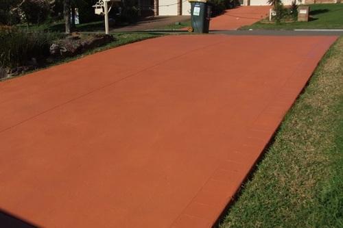driveway colour sealing