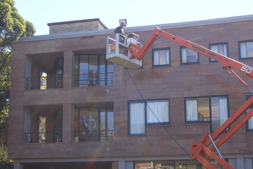 Sandstone Building Cleaning