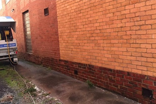 Graffiti Removal After