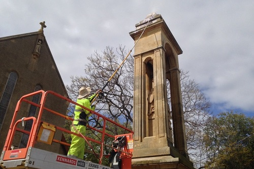 War Memorial Cleaning