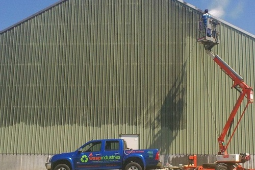 Industrial Shed Pressure Cleaning
