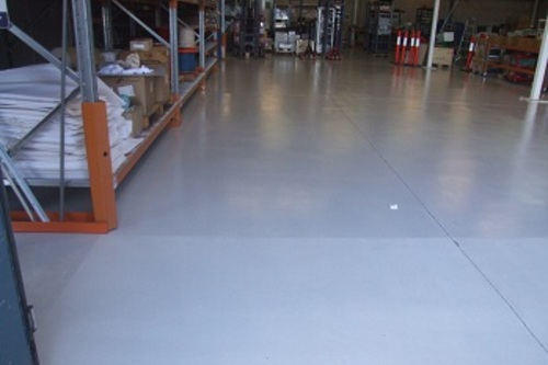 Factory Floor Painting After