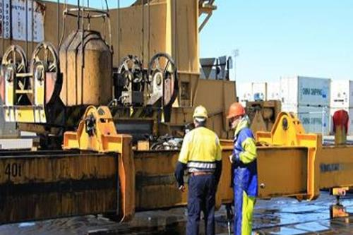 Container Lifting Machinery Cleaning Brisbane