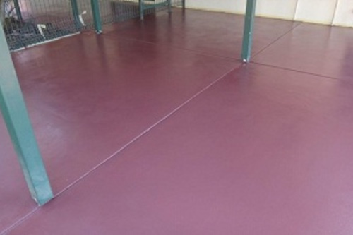 After Concrete Painting