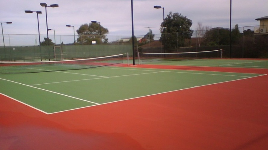 Tennis Court Cleaning After