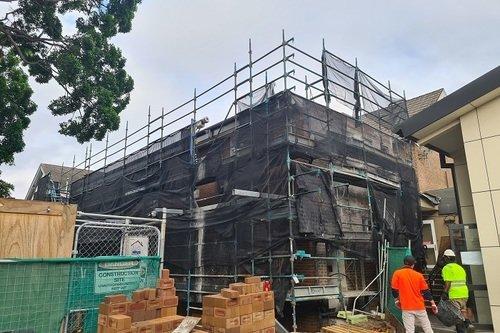 School Extension Brick Cleaner